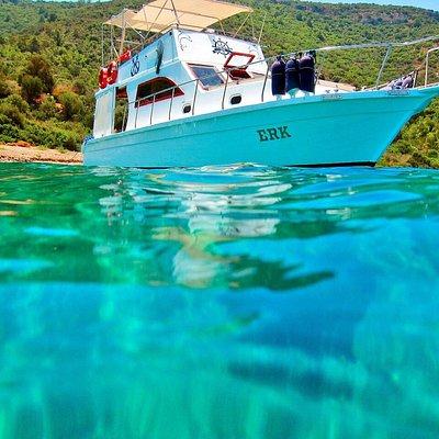 Teknemiz.Our boat