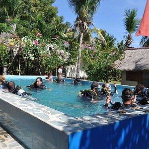 ADA's 2.5 meter purpose built pool.