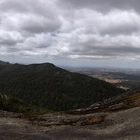 Panoramic views from the granite slope known as Devil's Slide