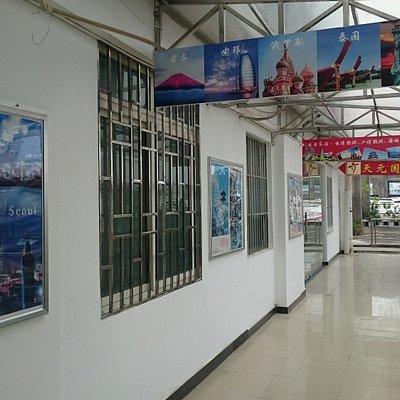 会社外の廊下(1)