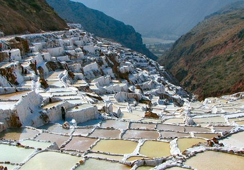 Salt mines, spectacular place, you can visit using diferent ways by car, trekking, ATV, Horses,