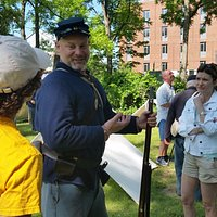Experience History-- reenactments and festivals