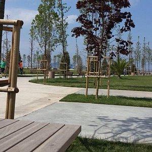 Çok güzel bir park...