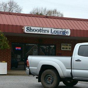Bar and Pool Hall hence the name Shooters