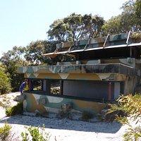 World War 2 observation bunker