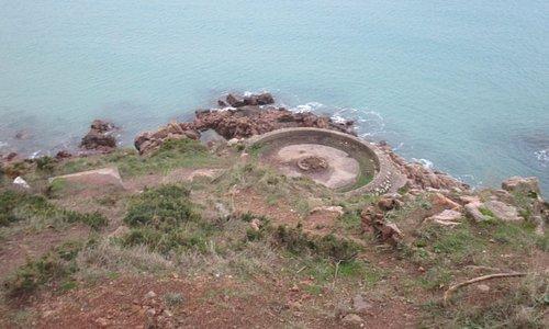 Ouaisne Bay WW2 Occupation coastal fortification