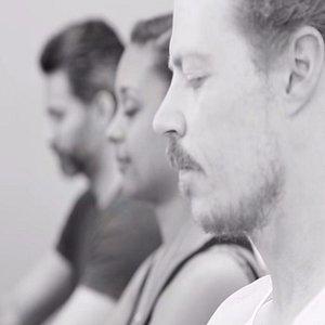 Yoga class at karma yoga