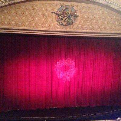 Beautiful old theatre.
