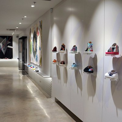 Six Hundred Four - limited edition sneakers designed by local artists. Sneakers and art!