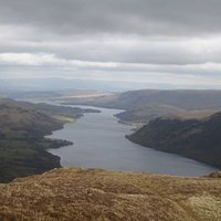View of Ullswater from Sheffield Pike