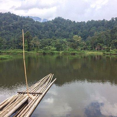 Situ Gunung Lake, Near Tanakita Camping ground
