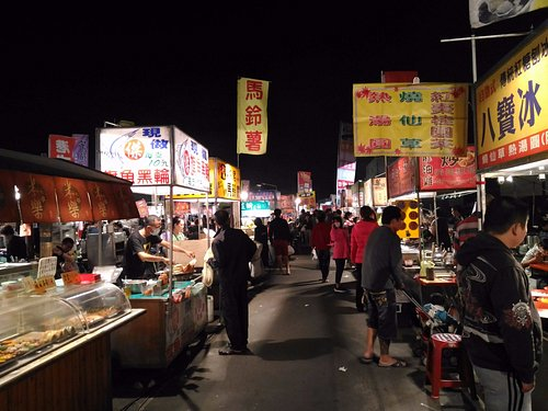 飲食攤位區一景