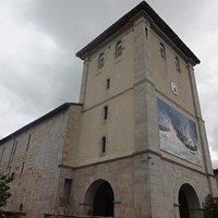 Église Notre-Dame-de-l'Assomption, Ascain (Pyrénées-Atlantiques, Nouvelle Aquitaine), France.