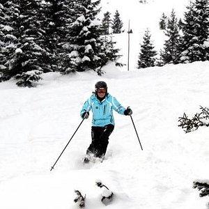 Barbara - the ski instructor and the owner of the SkiZakopane.com