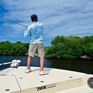 Fishing the inshore waters of Charlotte Harbor can be lots of fun.