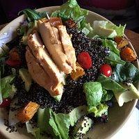 Quinoa salad was fresh & delicious