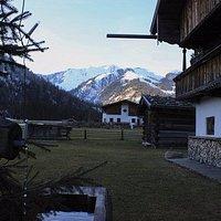 Aménagé dans une ancienne ferme au centre d'Achenkirch