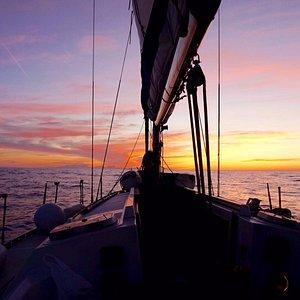 Sailing to Mallorca