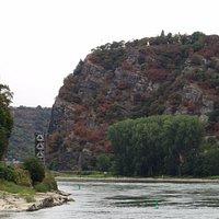 Rhine River at Loreley
