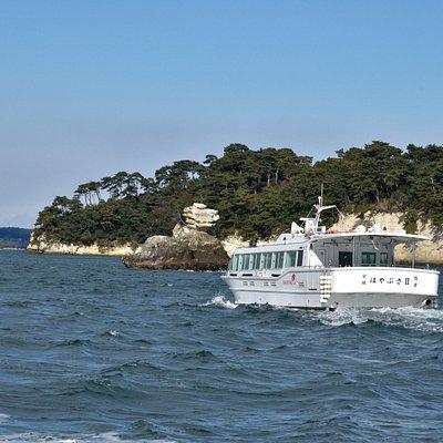 松島島巡り観光船:松島湾一周