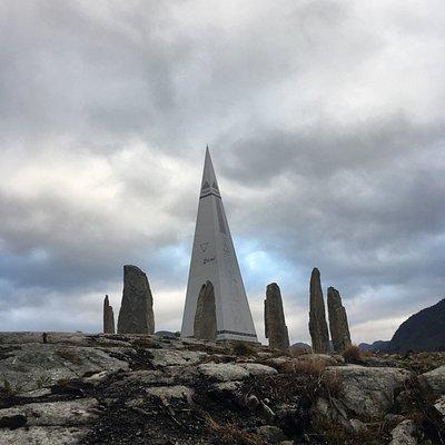 Solspeilet - Norwegian-Stonehenge