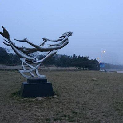 青島海濱雕塑園