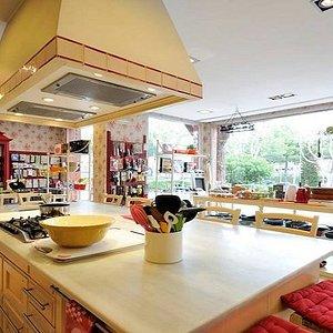 Nuestra estupenda cocina donde se realizan los diferentes cursos