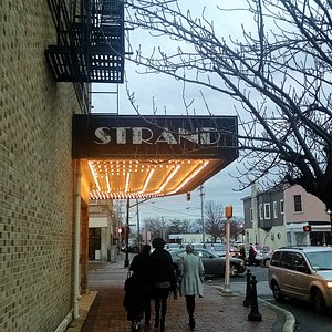 Marquee for the Strand