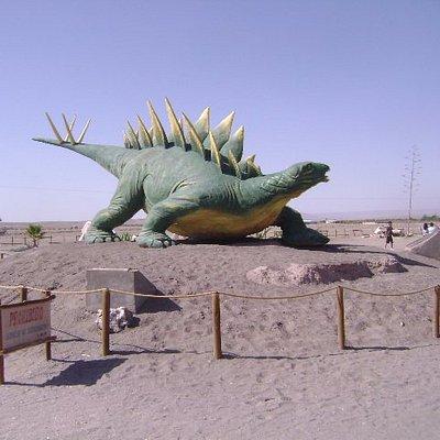 Parque de Dinosaurios camino a Pica