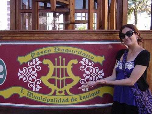 Tren Turistico del Paseo Baquedano