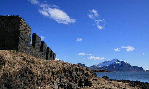 The old ruins of Ægisíða