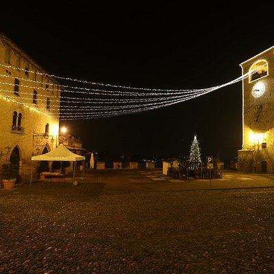 Veduta di Piazza Roma Natale 2016