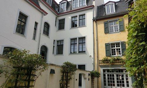 ベートーベンハウス中庭からの景色