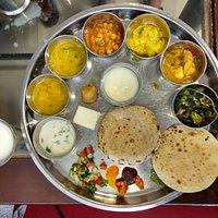 The Hotel's super thali!