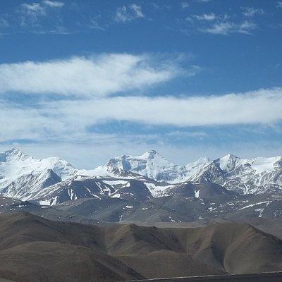 Imagen de la cordillera Himalaya.