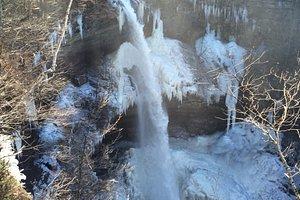 Kaaterskill Falls in Winter