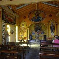 Chapelle aux Icônes, Cambo-les-Bains (Pyrénées-Atlantiques, Nouvelle Aquitaine), France.