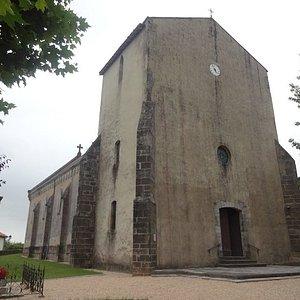 Église Saint-Sauveur, Hastingues (Landes, Nouvelle Aquitaine), France.