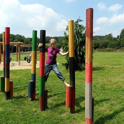 Im Erlebnispark werden die Sinne trainiert und neue Erfahrungen gesammelt