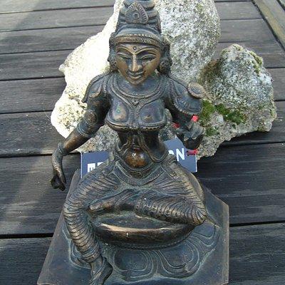 Parvati, Tamil Nadu début 20e s bronze