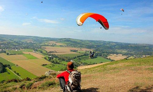 Parapente en Suisse Normande - Photo Grégory Wait