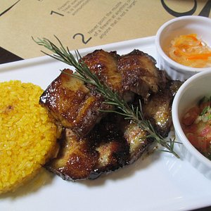 lovely food in their menu- Pinoy fusion