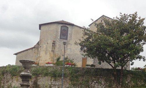 Église Saint-Pierre, Orthevielle (Landes, Nouvelle-Aquitaine), France.