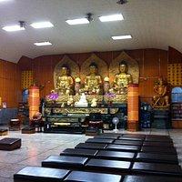 Inside of main hall