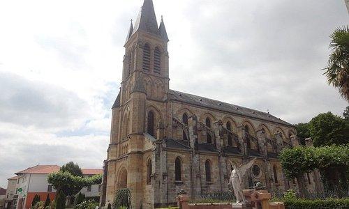 Église Saint-Martin, Peyrehorade (Landes, Nouvelle-Aquitaine), France.