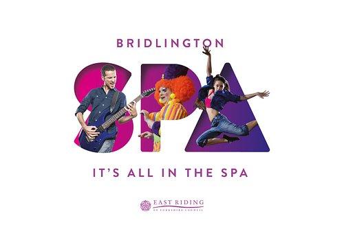 Bridlington's Spa's main logo. Visit the venue to see all adaptations.