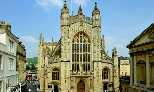 Bath Abbey West Front
