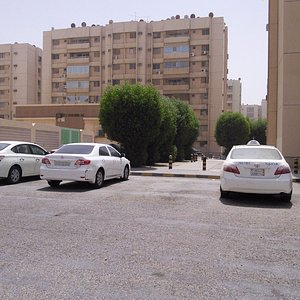 A section of housing complex.