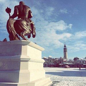 King Marko in winter