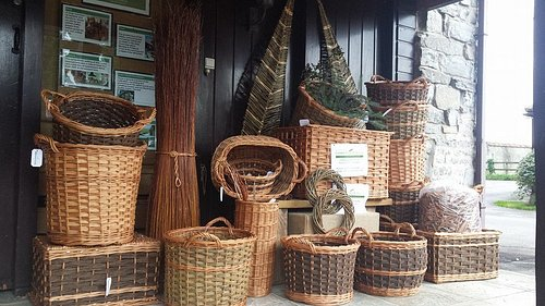 We stock a wide range of log baskets made on the premises